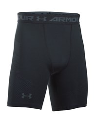 Under Armour Ua Heatgear Printed Compression Shorts Black
