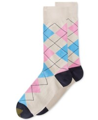 Gold Toe Men's Argyle Crew Socks String