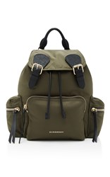 Burberry Medium Rucksack Green