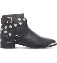 Senso Danny Studded Leather Boots Black