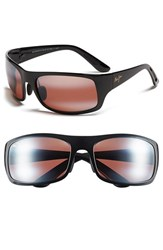 Maui Jim Men's 'Haleakala Polarizedplus2' Polarized Wrap Sunglasses