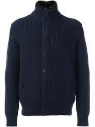 Loro Piana 'Costa Inglese' Cardigan Blue