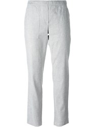 Theory Relaxed Fit Trousers Grey