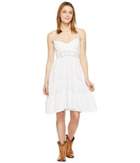 Scully Cantina Angelina Spaghetti Strap Dress White Women's Dress