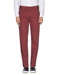 Tommy Hilfiger Denim Trousers Casual Trousers Men Maroon