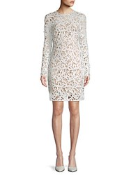 Alexia Admor 2 In 1 Base Layer And Lace Sheath Dress Ivory Nude