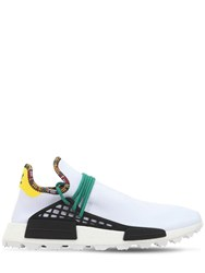 Adidas By Pharrell Williams Hu Nmd Sneakers White Green