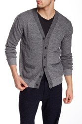 Apolis Alpaca Blend Cardigan Gray