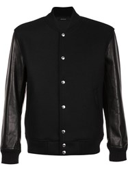 Christian Dada Classic Stadium Jacket Black