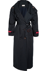 Preen Corey Cotton Gabardine Trench Coat