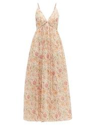 Loup Charmant Adelaide Liberty Print Cotton Dress Pink