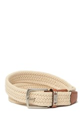 Tommy Bahama 35Mm Cotton Webbed Belt Sand