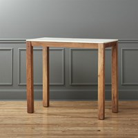Cb2 Palate Marble High Dining Table