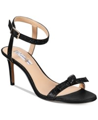 Inc International Concepts Laniah Evening Sandals Only At Macy's Women's Shoes Black