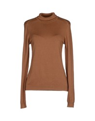 Vero Moda Knitwear Turtlenecks Women Camel