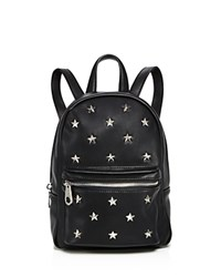 Sunset And Spring Star Mini Backpack Black Silver