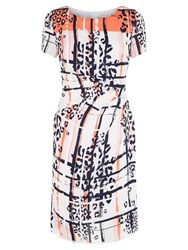 Fenn Wright Manson Hadera Dress Orange Multi