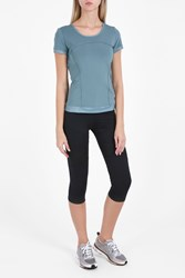 Stella Mccartney For Adidas The Performance T Shirt Blue