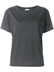 Masscob Lille Distressed T Shirt Grey