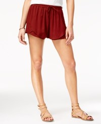 American Rag Tulip Shorts Only At Macy's Biking Red
