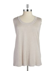 Jones New York Plus Sleeveless Blouse