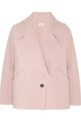 Temperley London Moya Wool And Cashmere Blend Jacket Pink