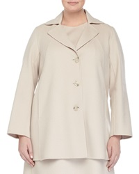 Marina Rinaldi Nettuno Wool Blend Short Coat Women's