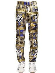 Versus By Versace Heritage Printed Trousers Multicolor