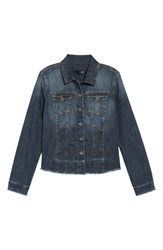 Kut From The Kloth Koth Unhemmed Denim Jacket Diversified
