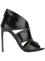 Tom Ford Cut Out Detail Ankle Boots Black