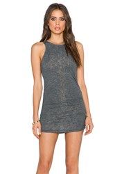Saint Grace Holly Muscle Dress Charcoal
