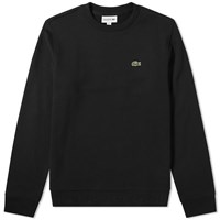 Lacoste Embossed Logo Hem Sweat Black