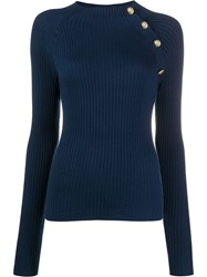Patrizia Pepe Ribbed Stretch Fit Jumper 60