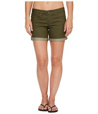 Prana Kara Denim Short Cargo Green Women's Shorts