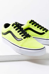 Vans Neon Old Skool Sneaker Yellow