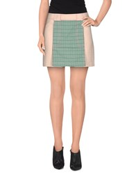 Custo Barcelona Skirts Mini Skirts Women Green