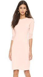 Susana Monaco Emma Long Sleeve Dress Nude