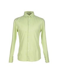 Futuro Shirts Shirts Men Light Green