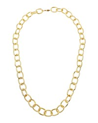 A.V. Max Handmade Gold Plated Link Necklace 36