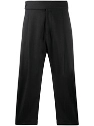 Odeur Front Pleated Cropped Trousers 60