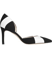 Lk Bennett Bonnie D'orsay Pointed Toe Court Shoes Pri Black White