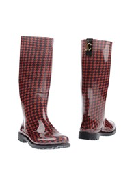 Just Cavalli Boots Red