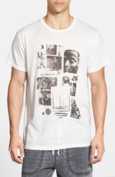 Obey 'Shelter Vintage Thrift' Graphic T Shirt White
