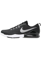Nike Performance Zoom Train Action Sports Shoes Black Metallic Silver Anthracite White