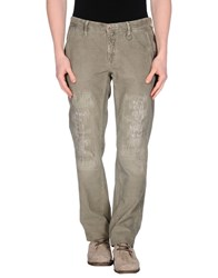Siviglia White Trousers Casual Trousers Men Grey