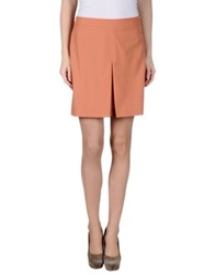 Dekker Mini Skirts Salmon Pink