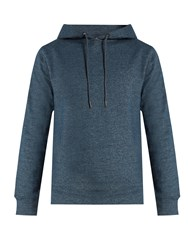 A.P.C. Brook Hooded Cotton Sweatshirt Indigo