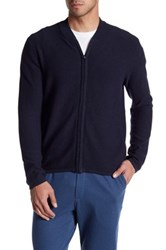 Zachary Prell St. Lorenzo Full Zip Sweater Blue