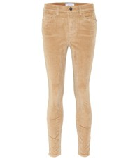 Current Elliott Stretch Cotton Pants Beige