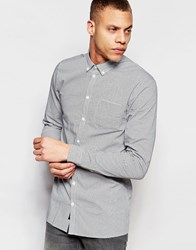 Minimum Pocket Cass Shirt Navy